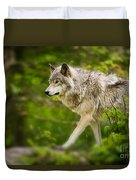 Timber Wolf Pictures 1329 Duvet Cover