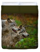 Timber Wolf Pictures 1710 Duvet Cover