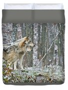 Timber Wolf Pictures 184 Duvet Cover