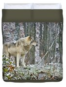 Timber Wolf Pictures 185 Duvet Cover