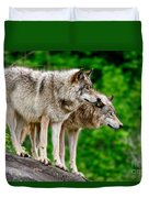 Timber Wolf Pictures 191 Duvet Cover