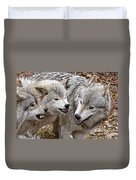 Timber Wolf Pictures 213 Duvet Cover
