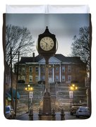 Time For Justice Duvet Cover