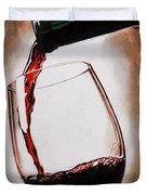 Time For Wine Duvet Cover