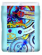 Time In Abstract 20130605 Long Duvet Cover