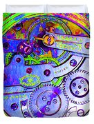 Time In Abstract 20130605m36 Square Duvet Cover