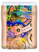 Time In Abstract 20130605p180 Long Duvet Cover