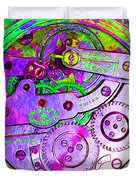 Time In Abstract 20130605p72 Square Duvet Cover