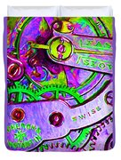 Time In Abstract 20130605p72 Duvet Cover