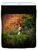 Time In The Garden Duvet Cover