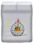 Time In The Sand Duvet Cover