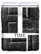 Time Duvet Cover