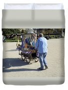 Time To Sail Away 1 Duvet Cover