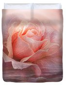 Time To Say Goodbye Rose Duvet Cover