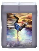 Time To Shake Things Up Duvet Cover