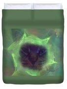 Time Warp Cat Duvet Cover