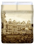 Timeless Grand Place Duvet Cover by Carol Groenen