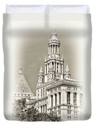 Timeless- New York City Hall Duvet Cover