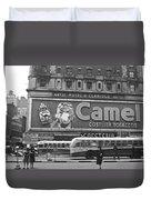 Times Square Advertising Duvet Cover