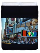 Times Square Energy Duvet Cover