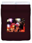 Times Square  Duvet Cover