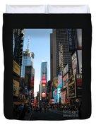 Times Square - New York I Duvet Cover