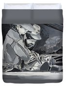 Timing Is Everything - Father Son Art Duvet Cover