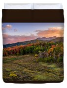 Timp Fall Glow Duvet Cover by Chad Dutson