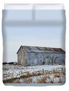 Tin Barn Color  Duvet Cover