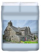 Tintagel Post Office  Duvet Cover