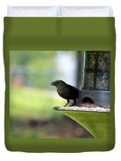 Tiny Seed For A Tiny Bird Duvet Cover