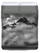 Tips Of The Tantalus Duvet Cover