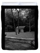Tipton Place In Cades Cove Duvet Cover