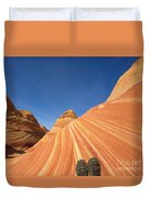 Tired Hiker Paria Wilderness Arizona Duvet Cover