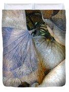 Tissue Paper Petals Duvet Cover