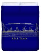 Titanic By Design Duvet Cover