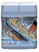 Titanic Duvet Cover