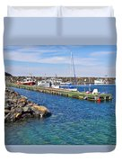 Tiverton On Digby Neck-ns Duvet Cover