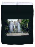 Tivoli Garden Fountain Duvet Cover