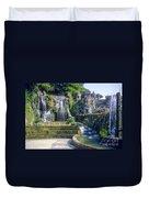 Tivoli Garden Fountains Duvet Cover