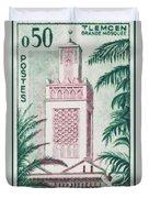 Tlemcen Great Mosque Duvet Cover