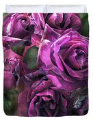 To Be Loved - Purple Rose Duvet Cover