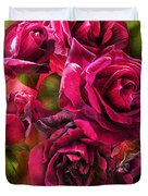 To Be Loved - Red Rose Duvet Cover