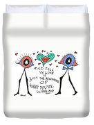 To Fall In Love Duvet Cover