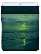 To Green To Be Blue Duvet Cover