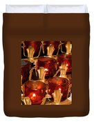 To Lite A Candle Duvet Cover