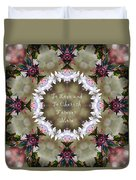To Love And To Cherish Forever More Duvet Cover