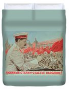 To Our Dear Stalin Duvet Cover