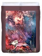 To The Freedom Duvet Cover