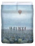 To The Mountains Of The Moon Duvet Cover